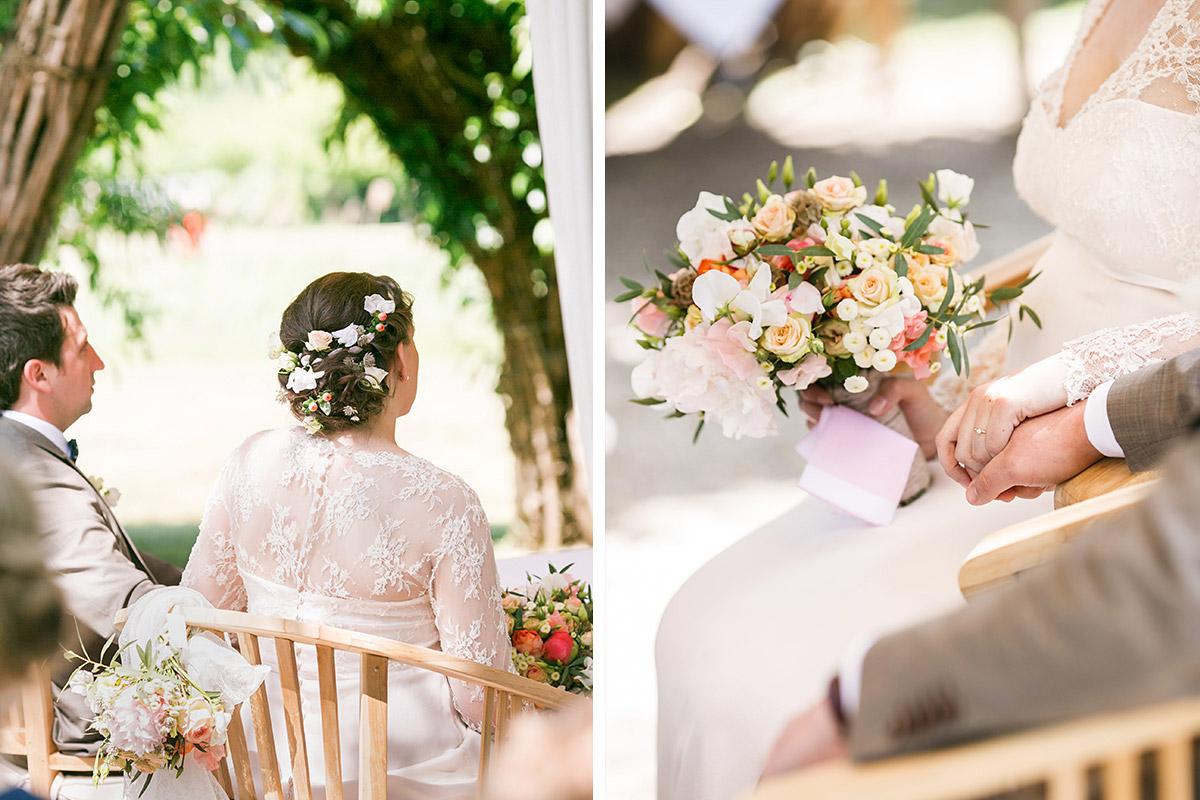 Hochzeitsreportagefoto Bei Standesamtlicher Trauungszeremonie Im