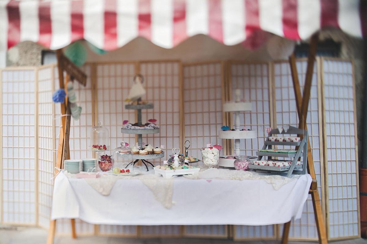 Candy bar hochzeit vintage - Einmachglaser deko ...