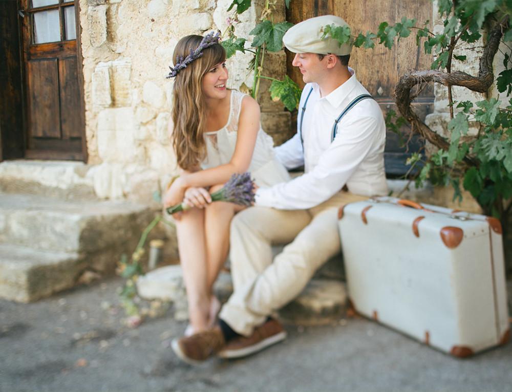 Paarfotoshooting in der Provence von hochzeitslicht | LUMENTIS Fotostudio Berlin
