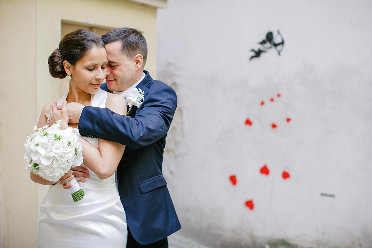 Professionelles Hochzeitsfoto von Braut und Bräutigam aufgenommen von hochzeitslicht-Fotoissner © Hochzeitsfotograf Berlin www.hochzeitslicht.de