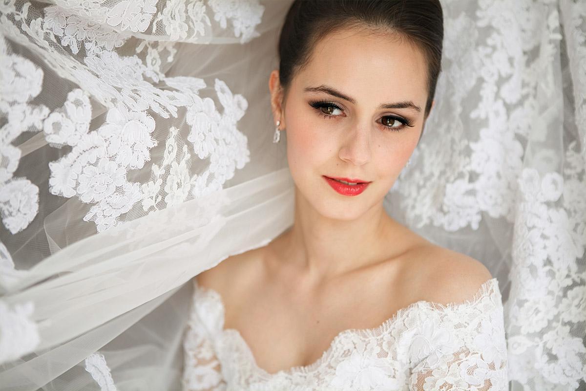 Hochzeitsfotografie Der Braut Aufgenommen Bei Vintage Hochzeit In