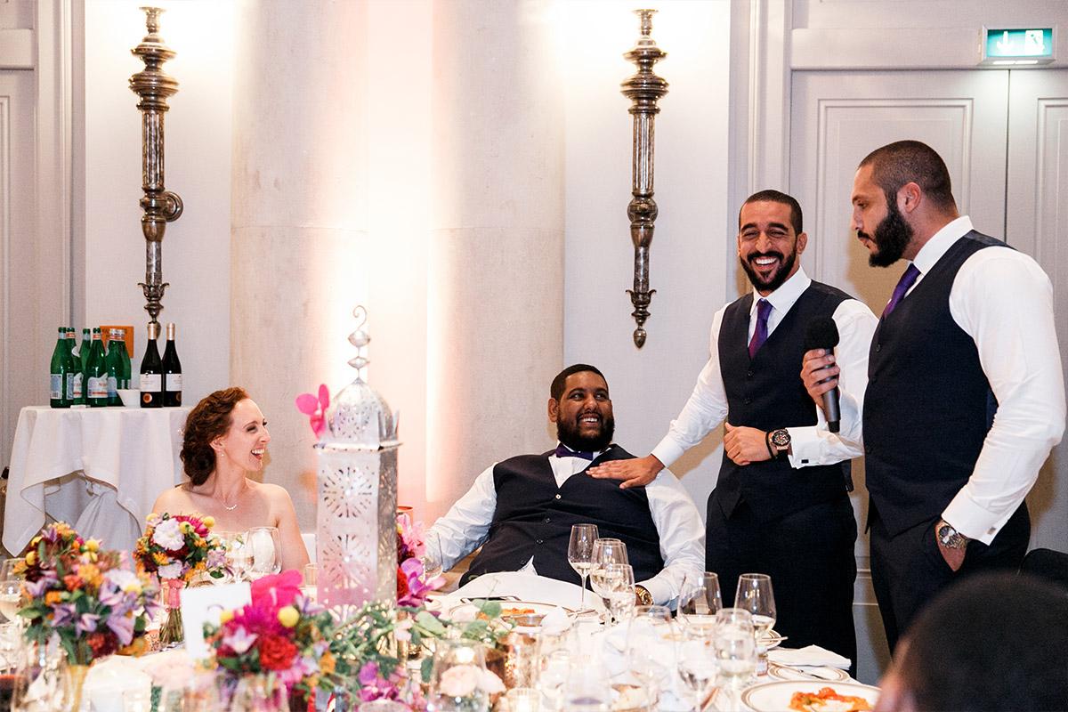Hochzeitsreportage Hochzeitsfeier - Hotel de Rome Berlin Hochzeitsfotograf © www.hochzeitslicht.de