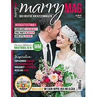 Fotoreportage und Coverfoto im marryMAG Magazin