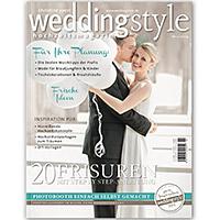 Hochzeitsfotograf mit Fotoreportage und Coverfoto im weddingstyle Magazin
