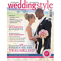 Fotoreportage und Coverfoto im weddingstyle Magazin
