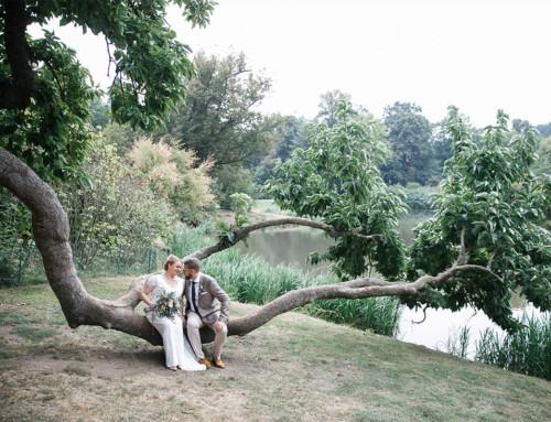 Scheunen-Hochzeit in der Lausitz Brandenburg