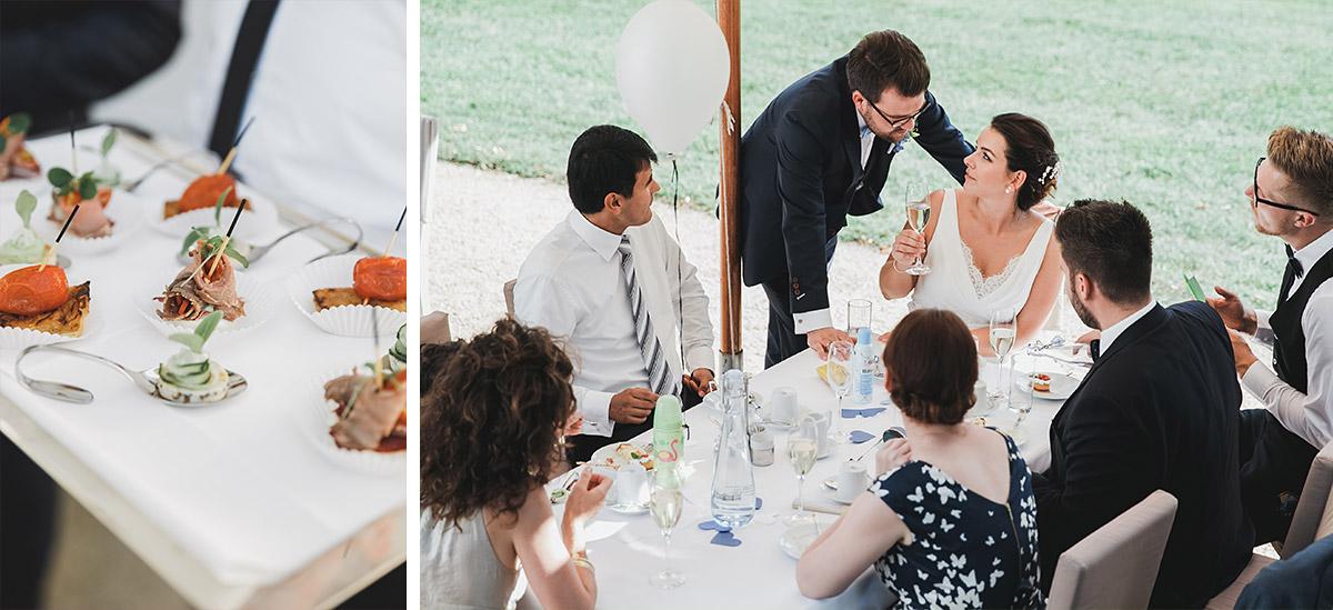 Hochzeitsfotos vom Buffet bei Schloss Neuhardenberg Hochzeit - Schloss Neuhardenberg Hochzeitsfotograf © www.hochzeitslicht.de