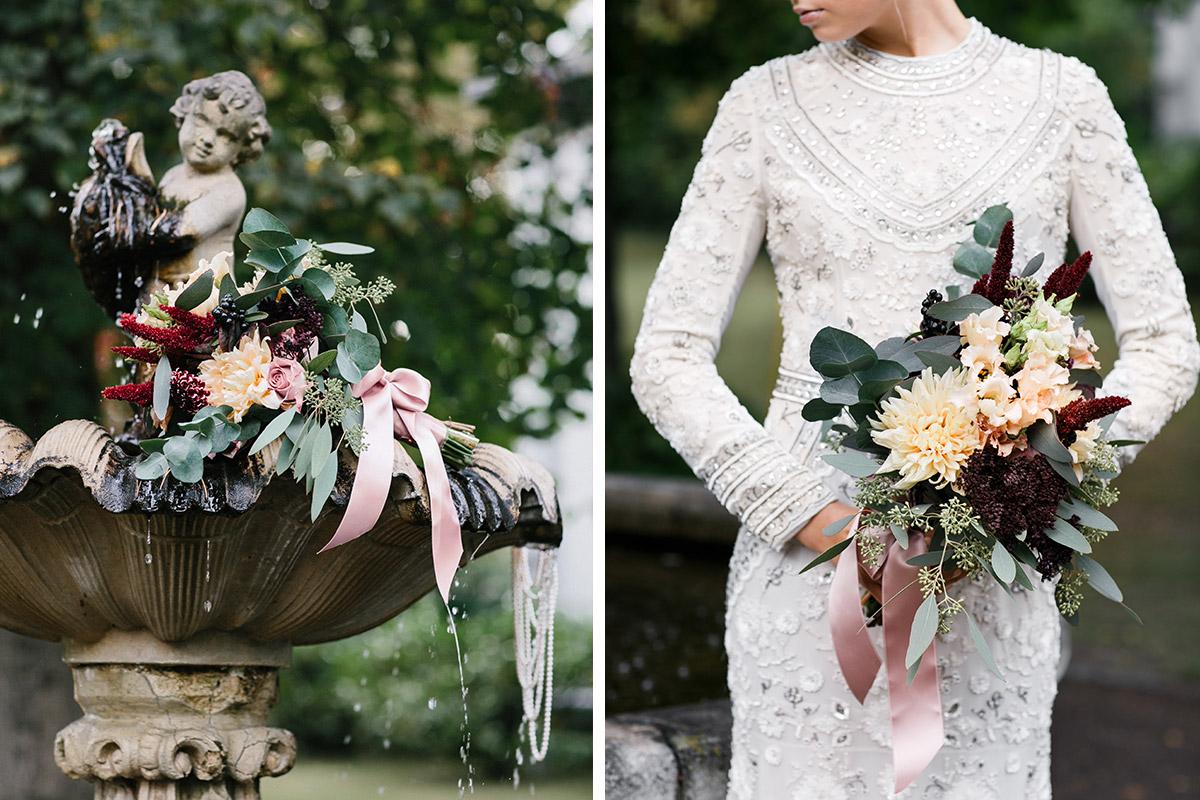 Inspiration Fur Eine Herbst Hochzeit Im Schlosshotel Grunewald