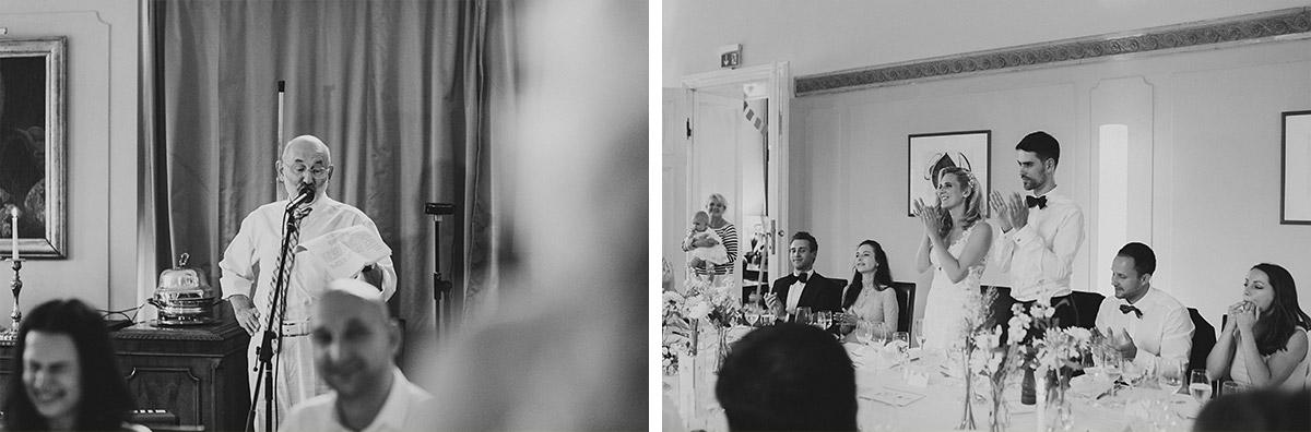 Hochzeitsfotos von Reden bei Hochzeitsfeier - Schloss Ziethen Kremmen Hochzeitsfotograf © www.hochzeitslicht.de
