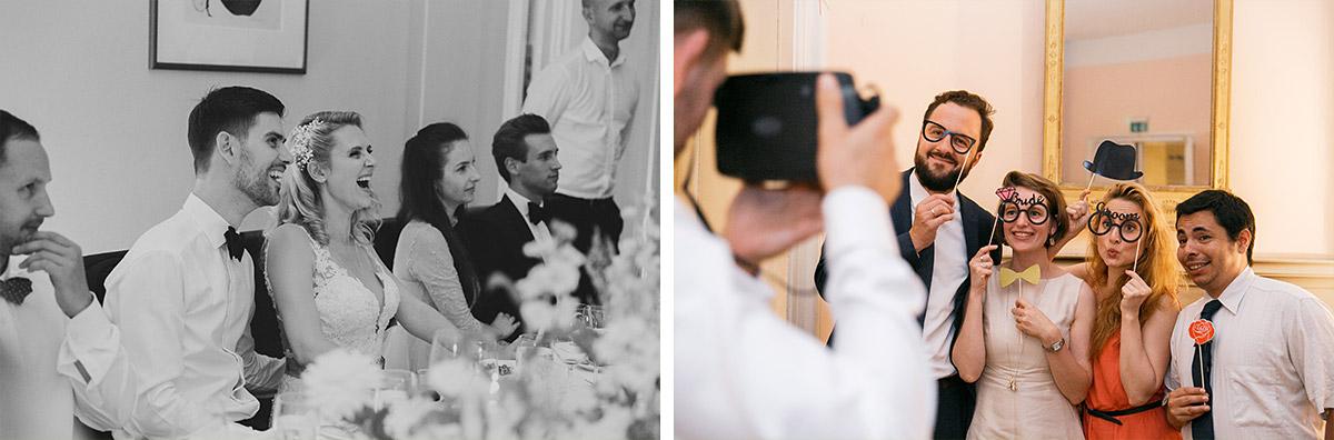 Reportagefotos von lustiger Hochzeitsfeier - Schloss Ziethen Kremmen Hochzeitsfotograf © www.hochzeitslicht.de