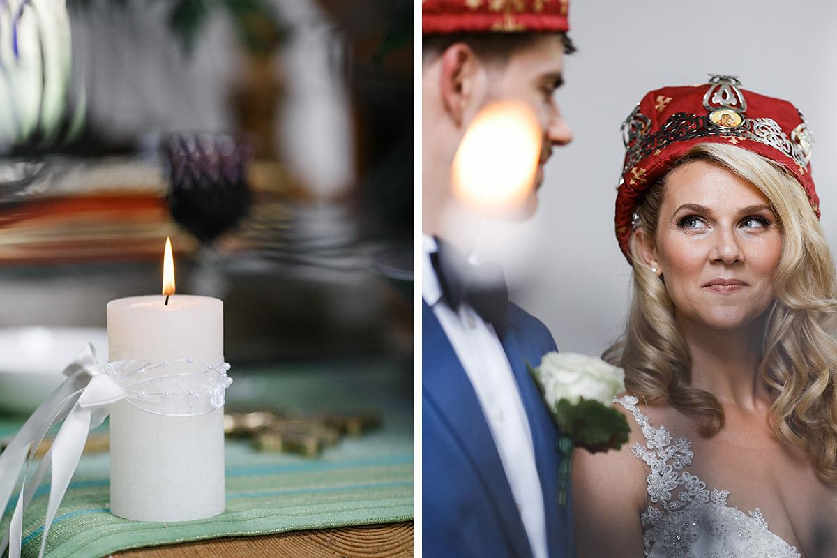 ungestellte Fotos bei griechisch-orthodoxer Trauung - Schloss Ziethen Kremmen Hochzeitsfotograf © www.hochzeitslicht.de