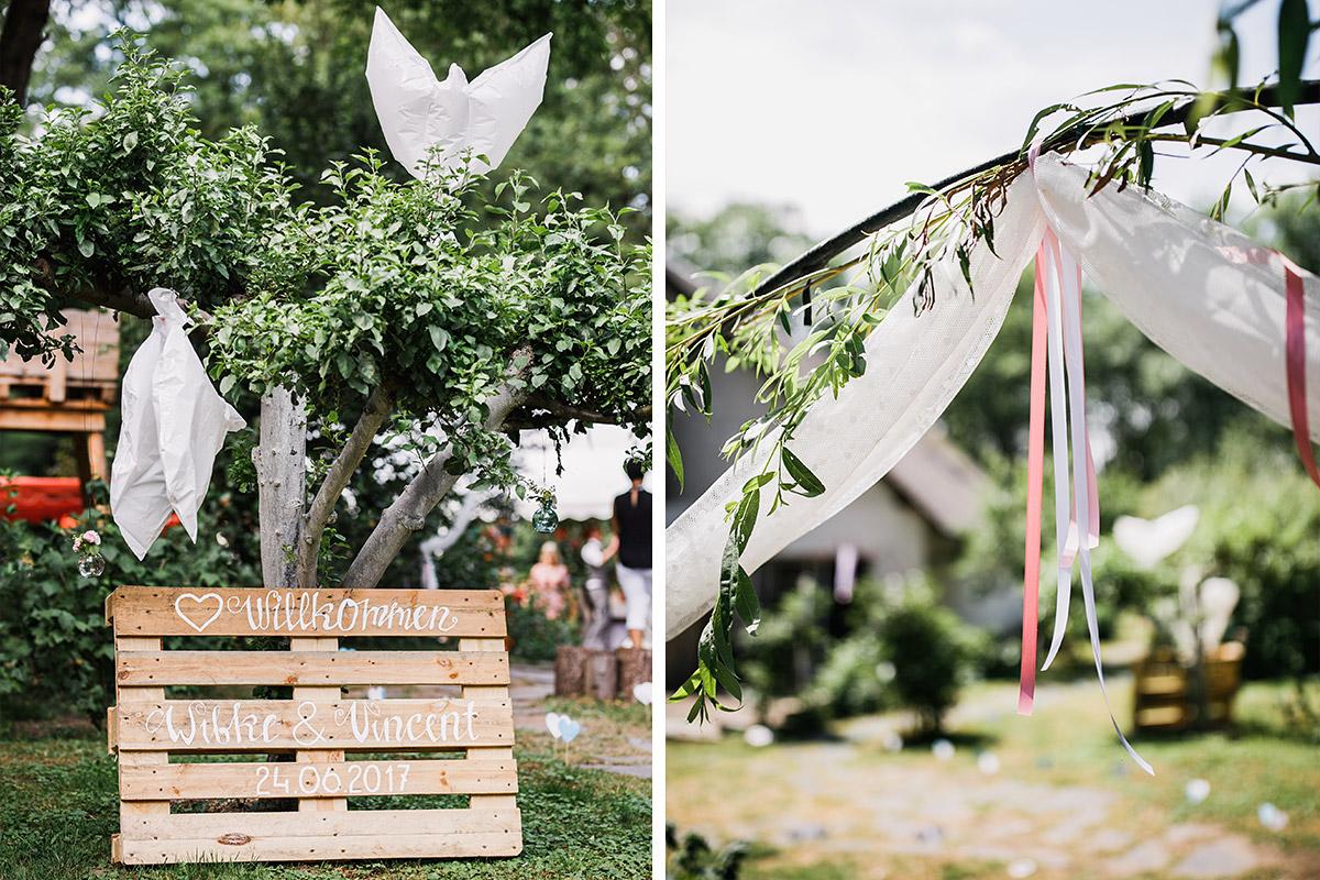 Diy Gartenhochzeit Spreewald Hochzeitsfotograf