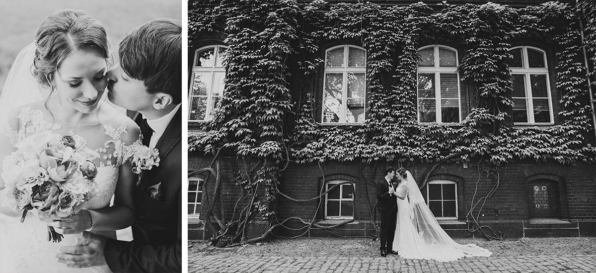 urbane Hochzeitfotos von Braut und Bräutigam - Berlin Hochzeitsfotograf © www.hochzeitslicht.de