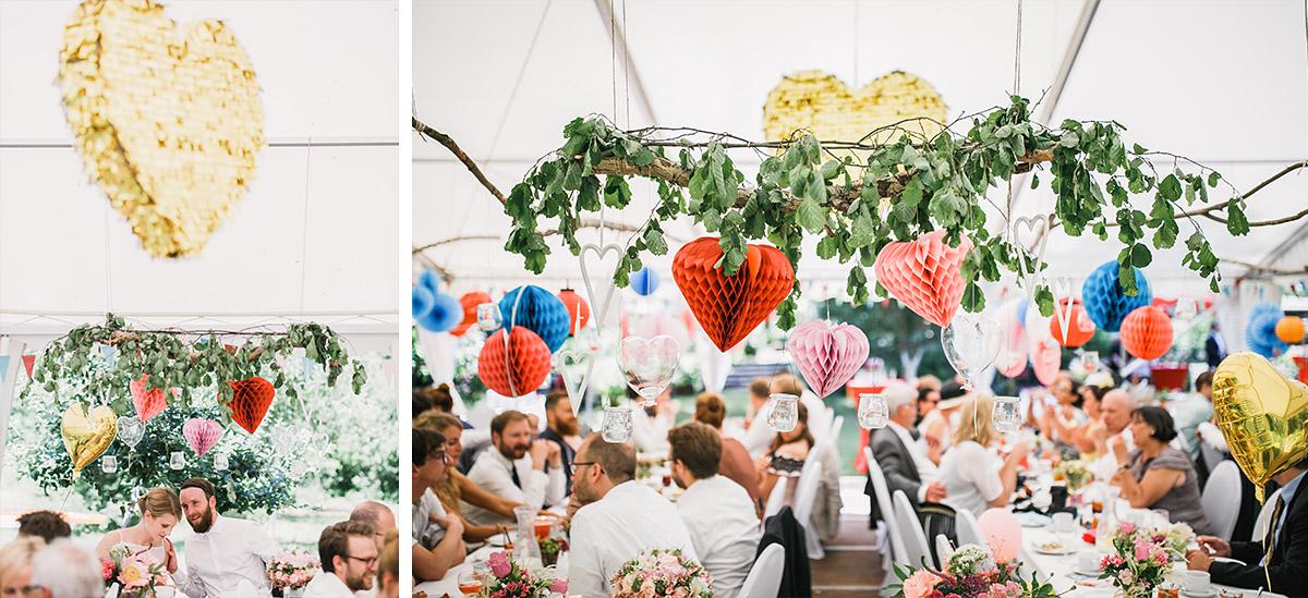 Hochzeitsfotos von Hochzeitsfeier - DIY Gartenhochzeit Spreewald Hochzeitsfotograf © www.hochzeitslicht.de
