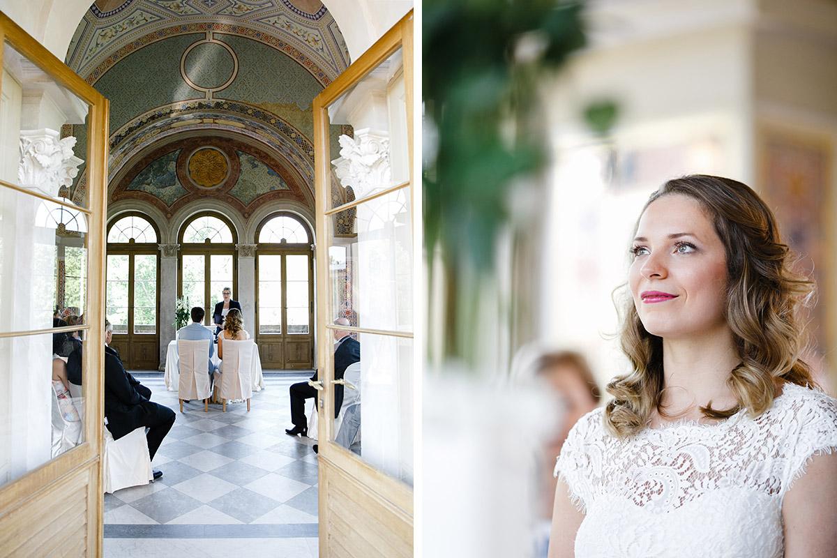 Hochzeitsreportagefotos bei Trauung im Belvedere Potsdam - Berlin Hochzeitsfotograf © www.hochzeitslicht.de