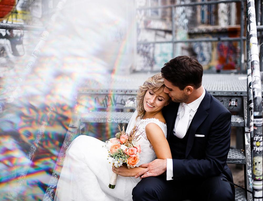 Urbane Berlin Hochzeit Friedrichshain
