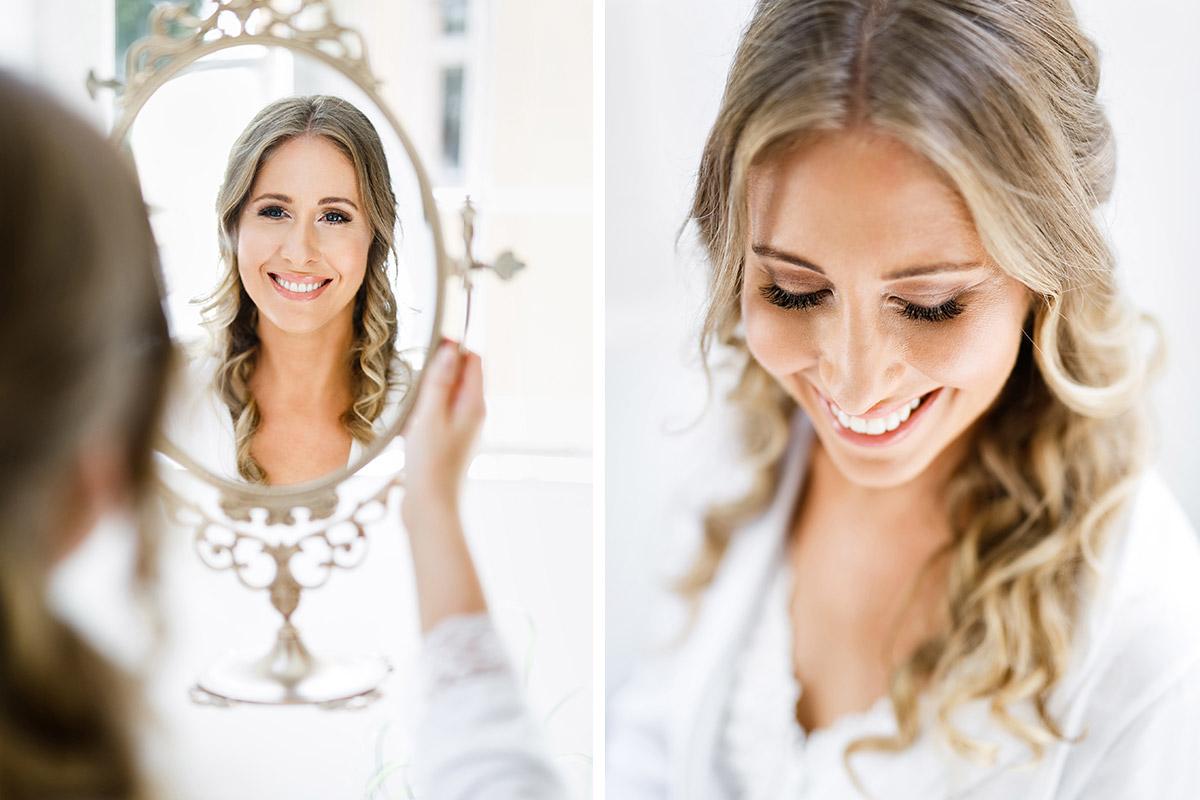 natürlich schöne Hochzeitsfotos von Braut beim Getting Ready - Berlin Hochzeitsfotograf © www.hochzeitslicht.de