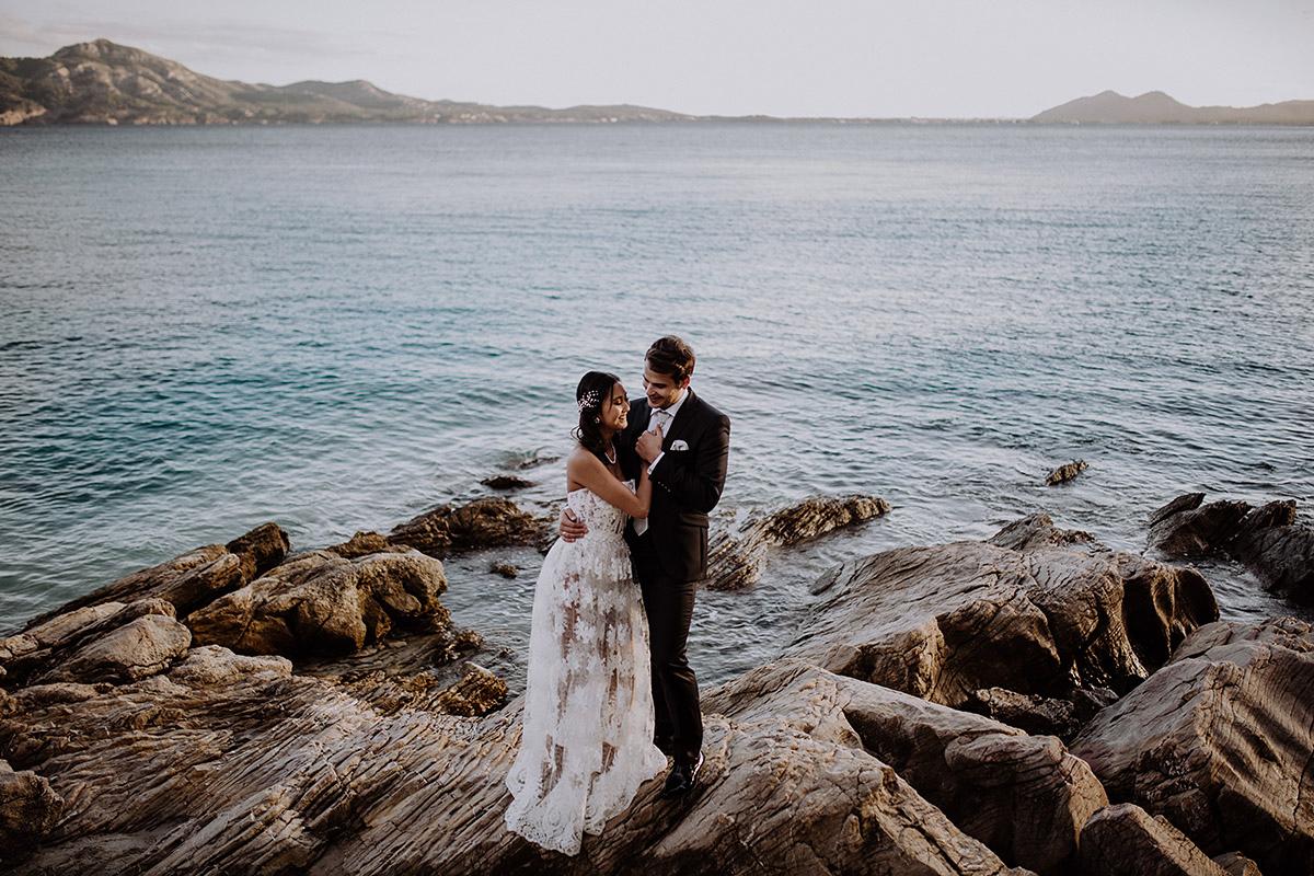 Elopement Hochzeit am Meer - Mallorca Hochzeitsfotograf © www.hochzeitslicht.de