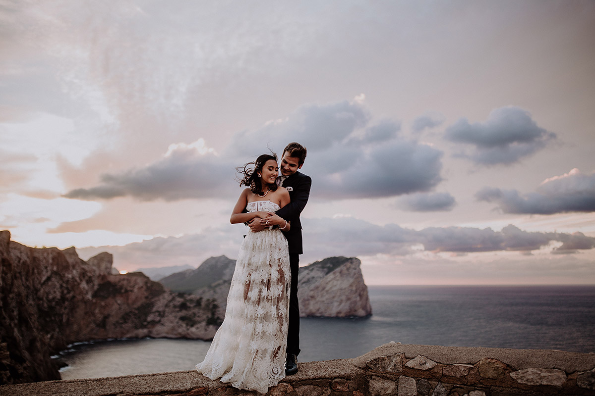 Elopement-Shooting Cap de Formentor - Mallorca Hochzeitsfotograf © www.hochzeitslicht.de