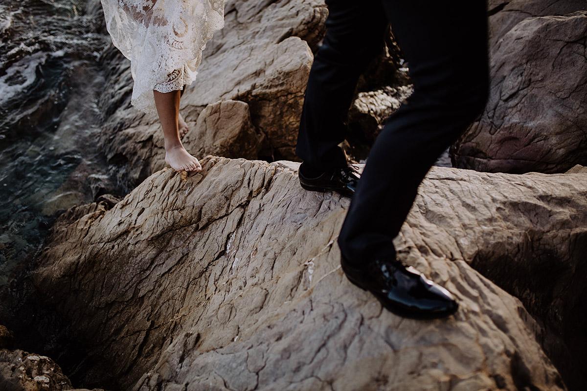 Elopement am Strand - Mallorca Hochzeitsfotograf © www.hochzeitslicht.de
