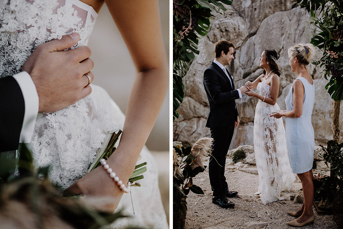 intime Hochzeit zu zweit - Mallorca Hochzeitsfotograf © www.hochzeitslicht.de