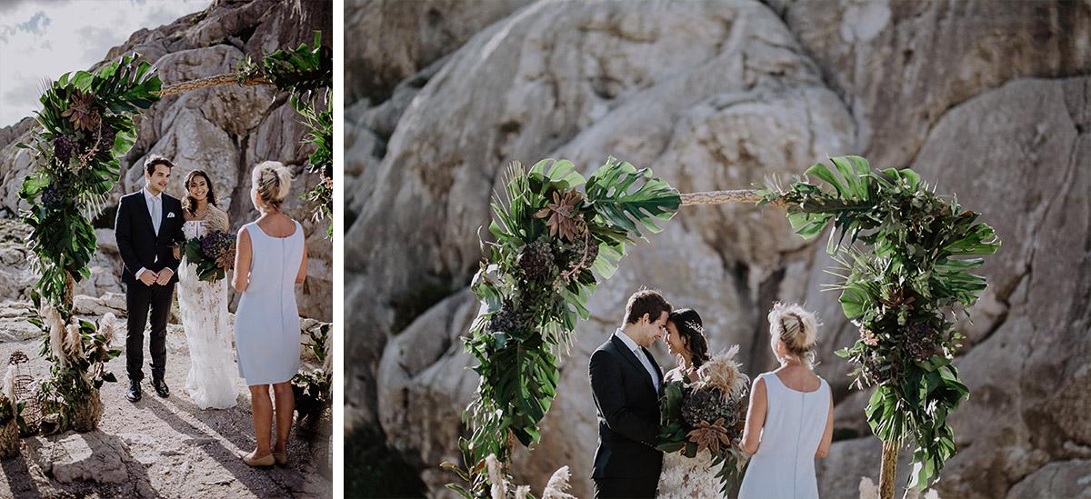 romantische Trauung am Meer - Mallorca Hochzeitsfotograf © www.hochzeitslicht.de