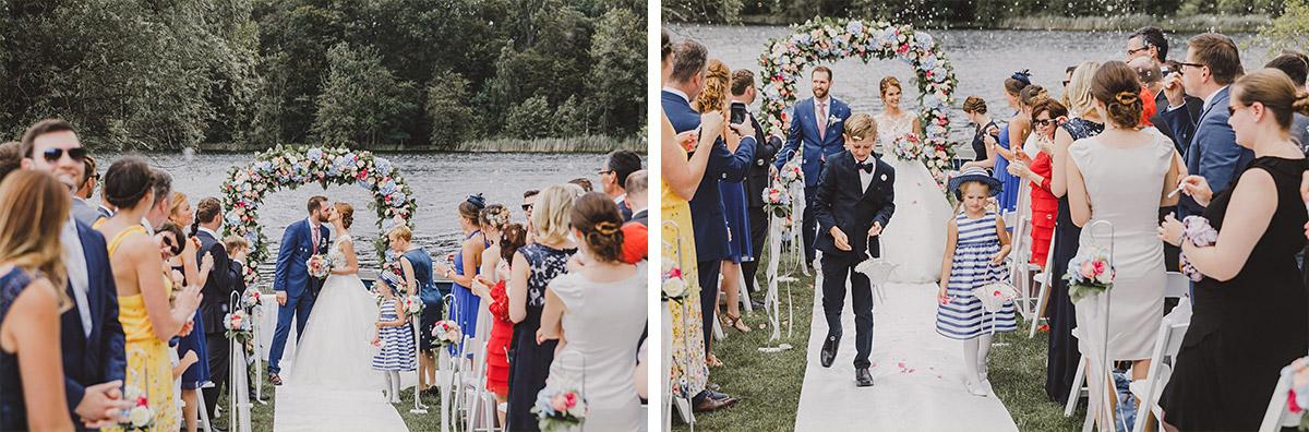 Trauung am See - Landgut Stober Hochzeitsfotograf © www.hochzeitslicht.de