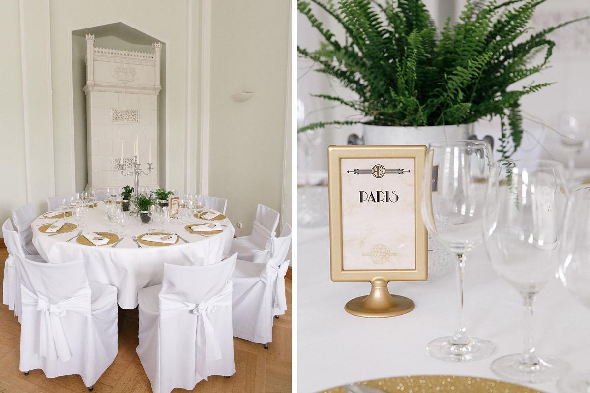 Schloss Kröchlendorff Hochzeit im Art Deco Stil - Hochzeitsfotograf
