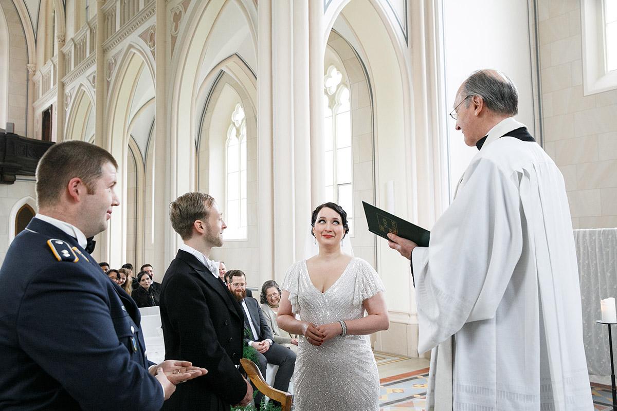 Trauung Art Deco Hochzeit Schloss Kröchlendorff - Schloss Kröchlendorff Hochzeitsfotograf © www.hochzeitslicht.de