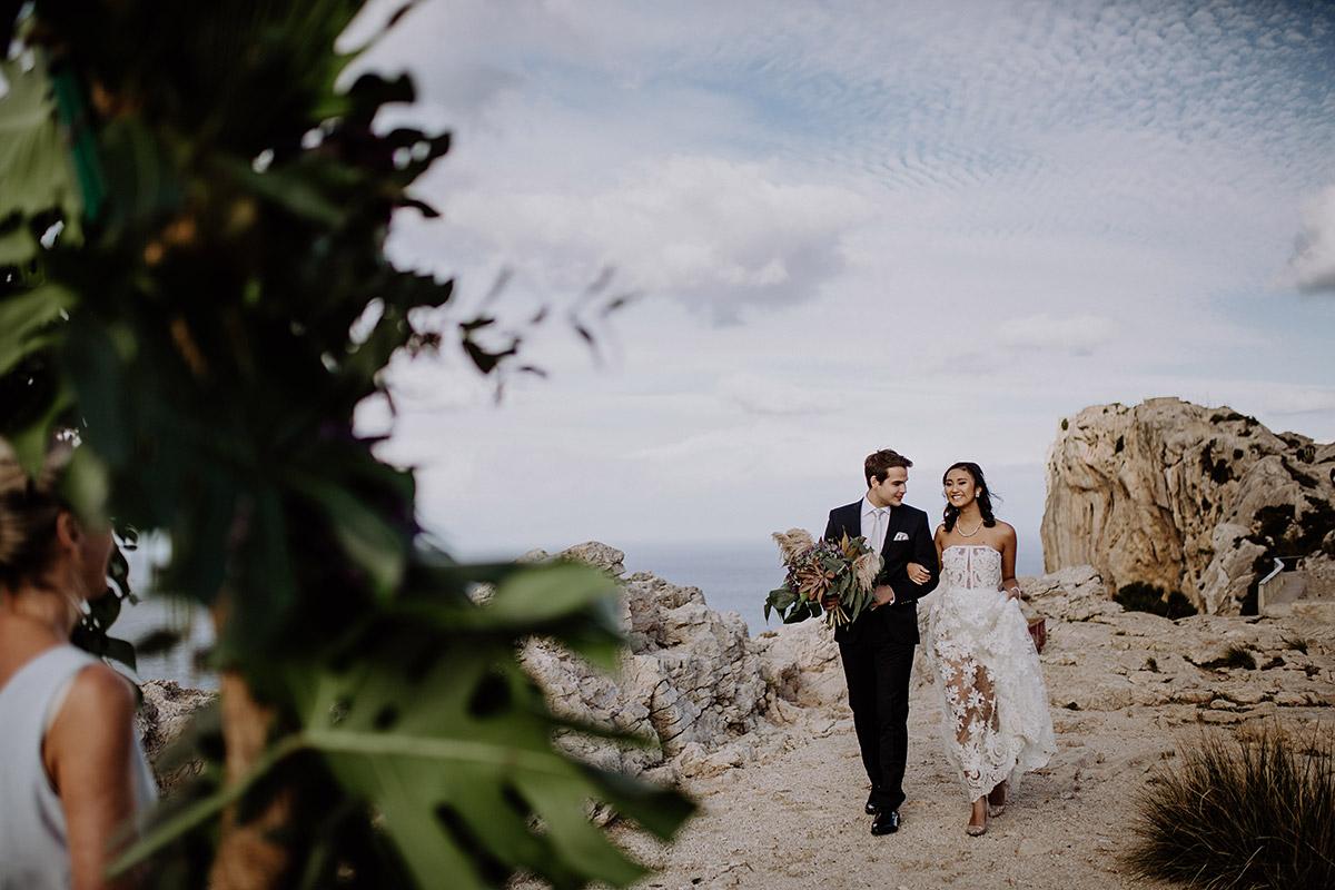 Heiraten zu zweit am Meer - Mallorca Hochzeitsfotograf © www.hochzeitslicht.de