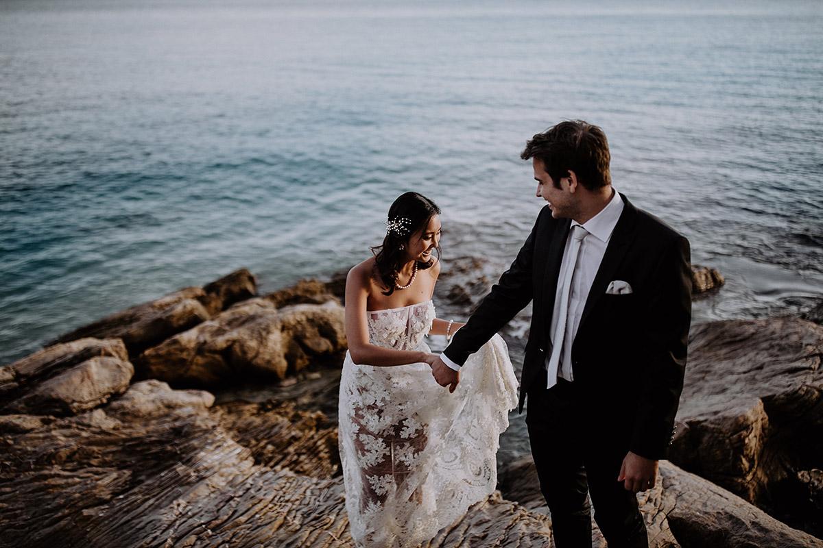 Strandhochzeit zu zweit - Mallorca Hochzeitsfotograf © www.hochzeitslicht.de