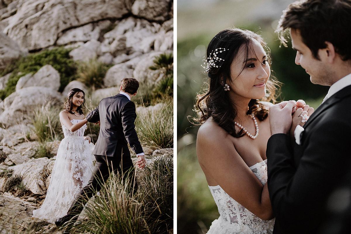 romantische Hochzeit zu zweit - Mallorca Hochzeitsfotograf © www.hochzeitslicht.de