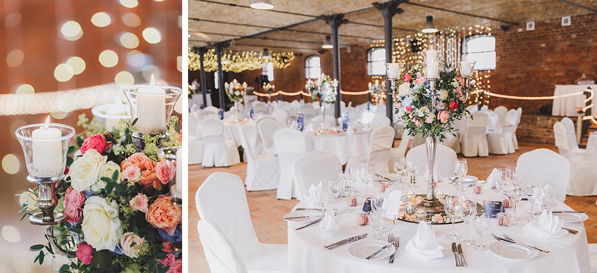 Detailfoto Tischdekoration elegate Landhochzeit - Landgut Stober Hochzeitsfotograf © www.hochzeitslicht.de