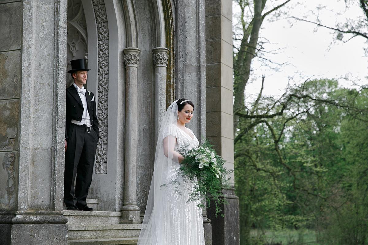 Hochzeitsfoto bei Vintage-Hochzeit - Schloss Kröchlendorff Hochzeitsfotograf © www.hochzeitslicht.de