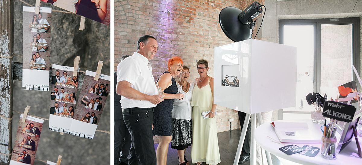 lustiges Photobooth bei Berlinhochzeit - Spreespeicher Hochzeitsfotograf © www.hochzeitslicht.de
