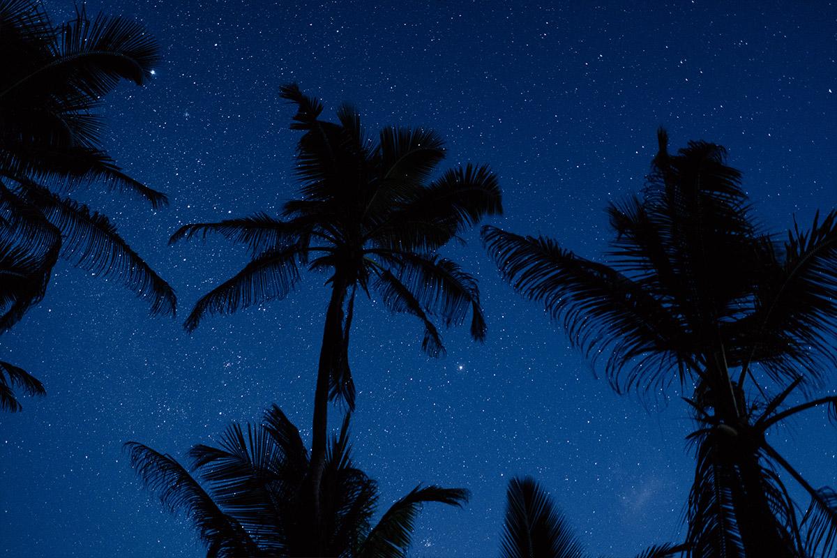 Sternenhimmel über Seychellen - Strandhochzeit Seychellen Hochzeitsfotograf © www.hochzeitslicht.de