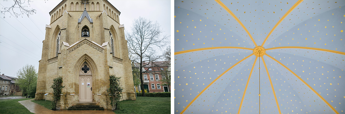 Alte Neuendorfer Kirche in Potsdam - Ermelerhaus Hochzeitsfotograf © www.hochzeitslicht.de