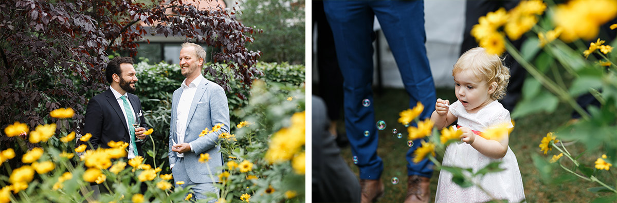 Hochzeitsfeier im Garten - Hochzeitsvilla Zehlendorf Hochzeitsfotograf © www.hochzeitslicht.de