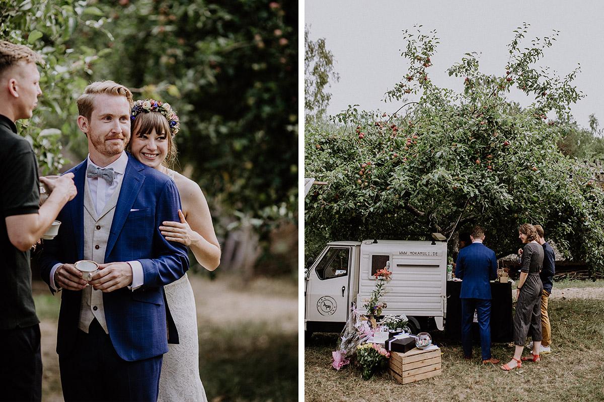 Hochzeitsreportage entspannte Boho-Hochzeit Berlin - Hochzeitsvilla Zehlendorf Berlin Hochzeitsfotograf © www.hochzeitslicht.de