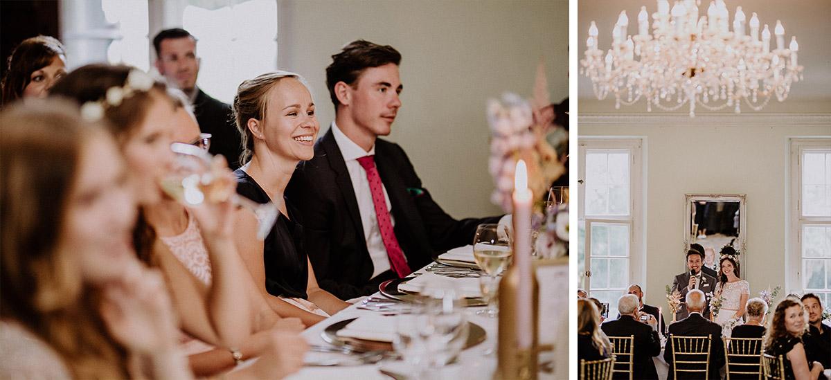 Reden bei Hochzeitsfeier - Schloss Kartzow Potsdam Hochzeitsfotograf © www.hochzeitslicht.de