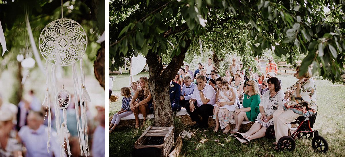 Dreamcatcher Hochzeit bei Boho-Hochzeit - Vierseithofcafé Brandenburg Hochzeitsfotograf © www.hochzeitslicht.de