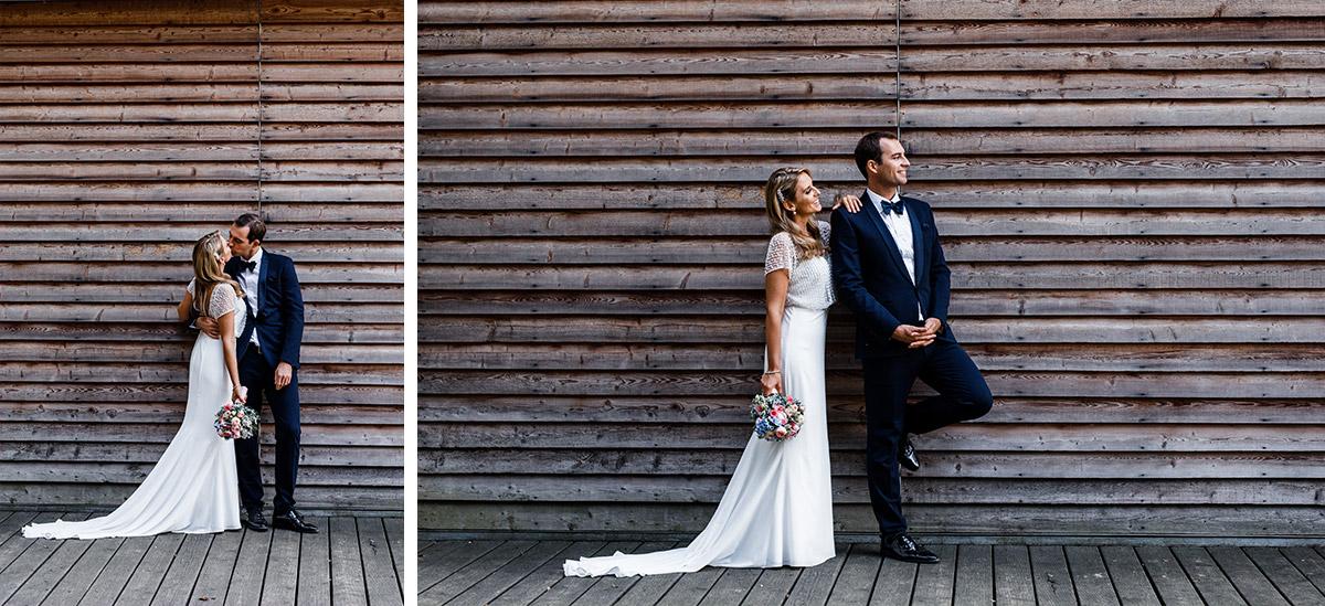 moderne Brautpaarfotos bei Schloss Liebenberg Hochzeit - Seehaus Schloss Liebenberg Hochzeitsfotograf © www.hochzeitslicht.de