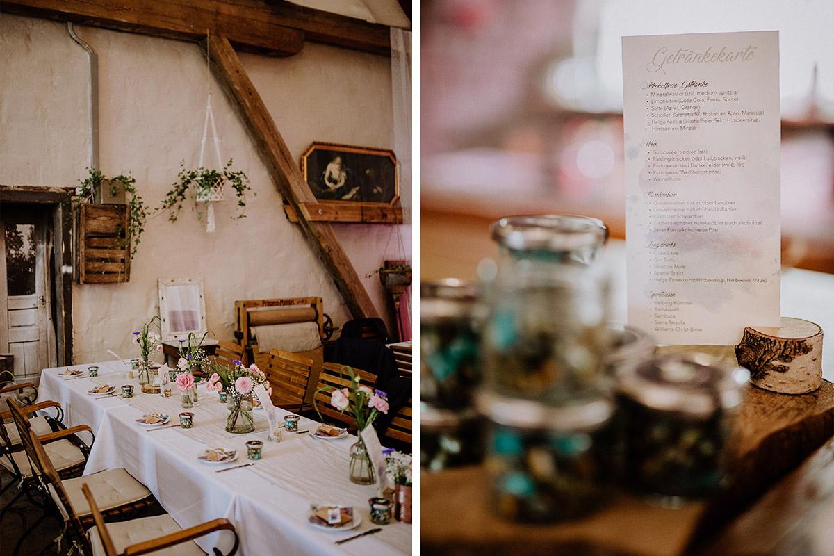 elegante Vintage Landhochzeit - Vierseithofcafé Brandenburg Hochzeitsfotograf © www.hochzeitslicht.de