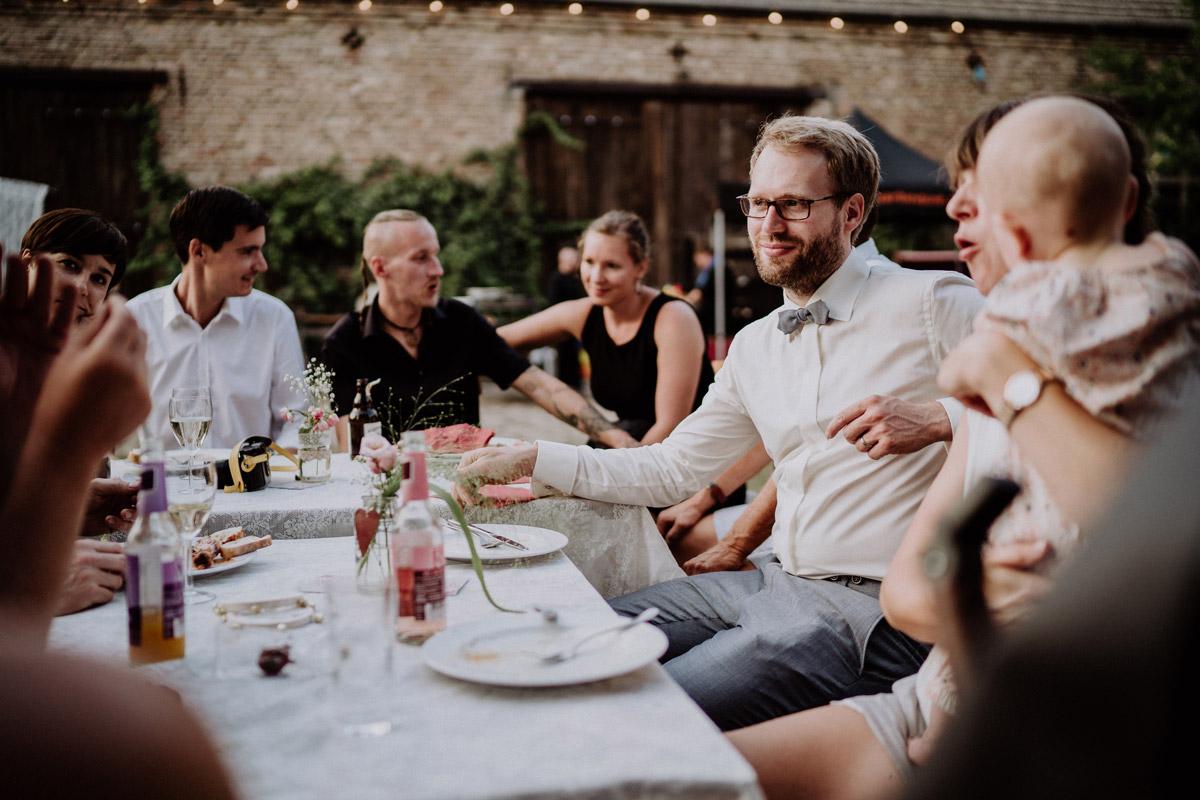 Hochzeitsfeier Scheunenhochzeit Vierseithofcafe Brandenburg