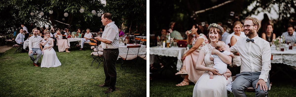 Hochzeitsreportagefotos Von Brautpaar Bei Hochzeitsfeier