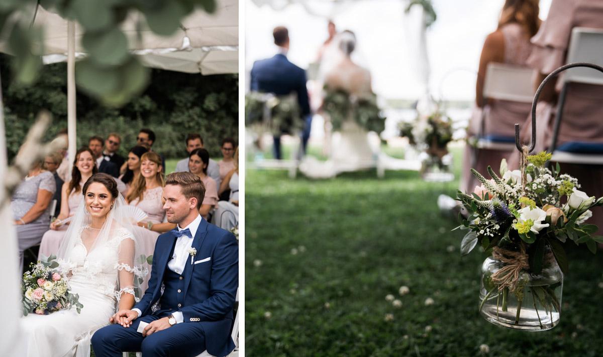 Hochzeitsreportage von freier Trauung - Villa Blumenfisch Hochzeitsfotograf © www.hochzeitslicht.de