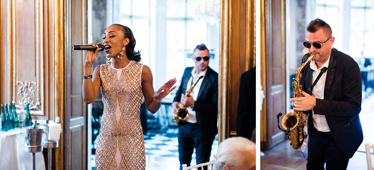 Entertainment Hochzeitsfeier - Schlosshotel Berlin Hochzeitsfotograf © www.hochzeitslicht.de