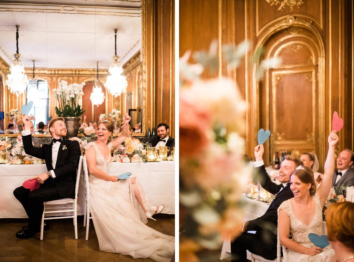 Spiel Brautpaar Hochzeit - Schlosshotel Berlin Hochzeitsfotograf © www.hochzeitslicht.de