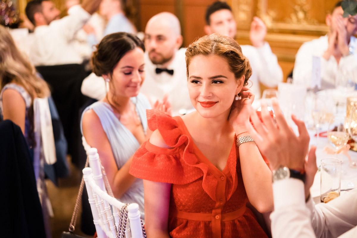 stilvolle Hochzeitsfeier - Schlosshotel Berlin Hochzeitsfotograf © www.hochzeitslicht.de