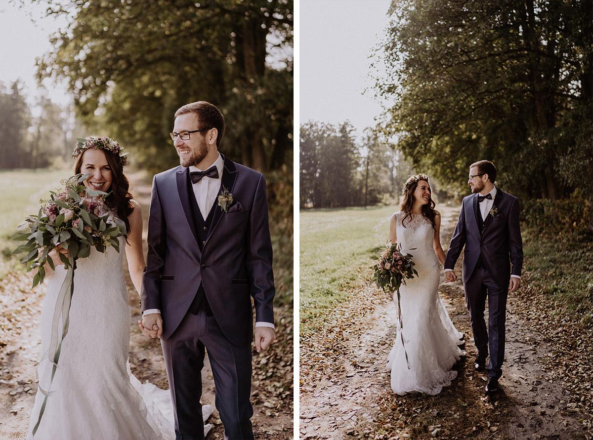 Brautpaarfotos vor Trauung - Spreewaldresort Seinerzeit Hochzeitsfotograf © www.hochzeitslicht.de